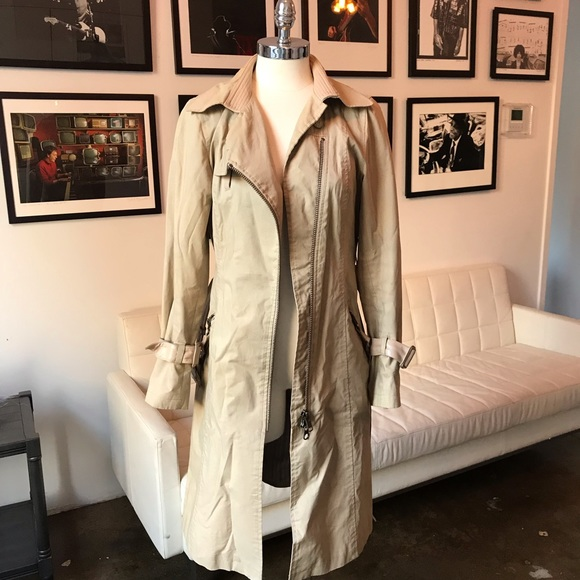 Mackage Jackets & Blazers - Mackage trench coat with leather lining